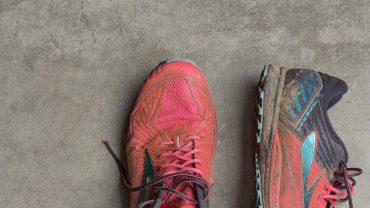 dirty sneakers